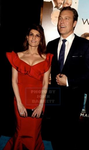 NIA VARDALOS,JOHN CORBETT at Premiere of ''My Big Fat Greek Wedding 2'' at AMC Loews Lincoln Square 3-15-2016 John Barrett/Globe Photos2016 ,