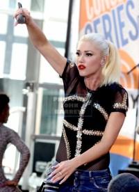 GWEN STEFANI at NBC ''Today'' show concert series at Rockefeller Plaza 7-15-2016 John Barrett/Globe Photos 2016