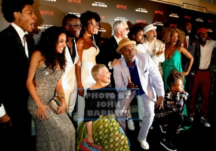 cast of ''The Get Down'' at NY Premiere of ''The Get Down'' at Lehman Center for the Performing Arts 250 Bedford Park Blvd,Bronx 8-11-2016 Photos by John Barrett/Globe Photos 2016