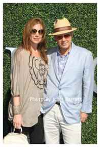 JAMES SPADER,wife LESLIE at Tennis US Open Day 14 at Flushing Meadow Park,Queens 9-11-2016 John Barrett/Globe Photos 2016
