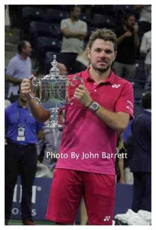 STAN WAWRINKA at Tennis US Open Day 14 at Flushing Meadow Park,Queens 9-11-2016 John Barrett/Globe Photos 2016