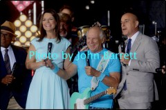CELINE DION,MATT LAUER at NBC ''Today ''Show Concert Series at Rockefeller Plaza 7-22-2016 John Barrett/Globe Photos 2016