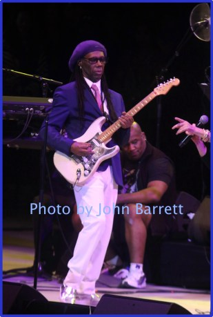 NILE RODGERS at Nile Rodger's Freak out Let's Dance Experience concert at Forest Hills Stadium 10-9-2016 John Barrett/Globe Photos 2016