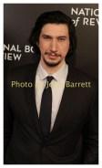 ADAMS DRIVER at National Board of Review Gala at Cipriani East 42street 1-4-2017 John Barrett/Globe Photos 2017