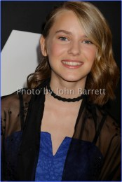 HANNAH WESTERFIELD at Screening of ''LOGAN'' at Rose Theater Jazz at Lincoln center time warner center 2-24-2017 Photo by John Barrett/Globe Photos 2017