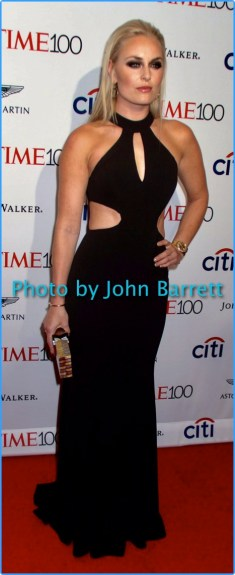 LINDSAY VONN at TIME 100 Gala at Frederick P.Rose Hall at Lincoln Center 59th and Columbus ave 4-25-17 Photo by John Barrett/Globe Photos 2017