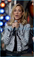 SHERYL CROW performing on NBC ''Today''Show at Rockefeller Plaza 4-19-17 Photo by John Barrett/Globe Photos 2017
