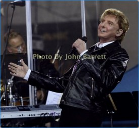 BARRY MANILOW performing on NBC ''Today''Show at Rockefeller Plaza 4-20-17 Photo by John Barrett/Globe Photos 2017