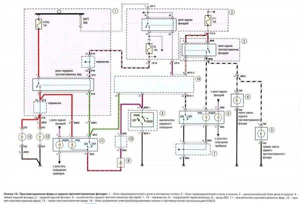 Схема Hyundai Tucson