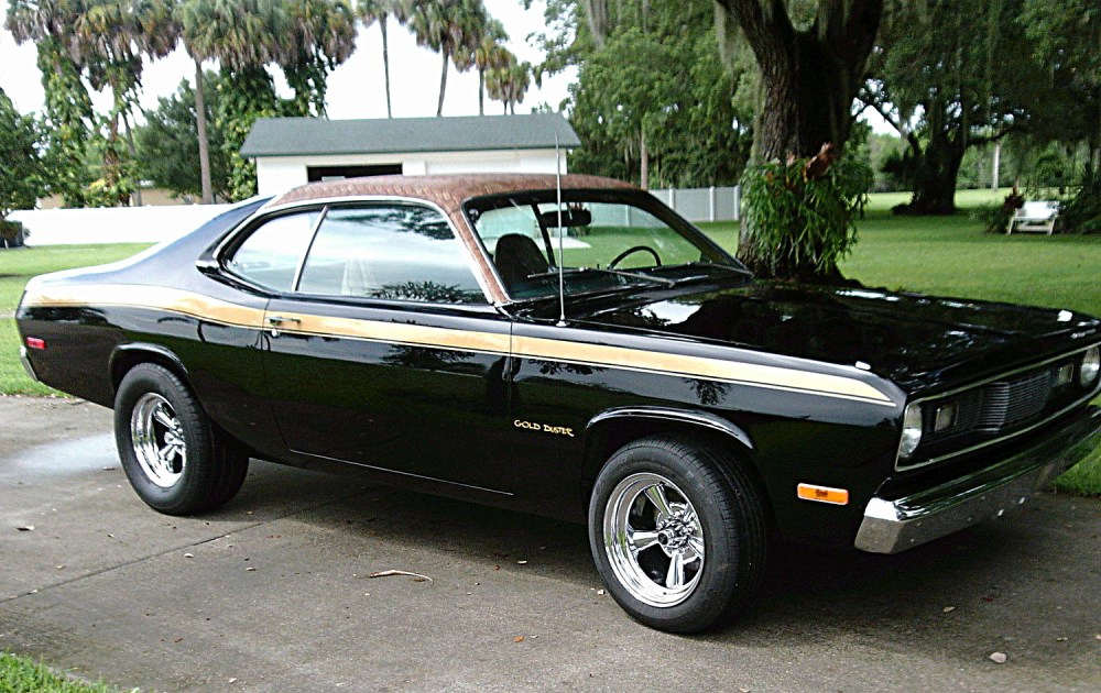 medium resolution of 1972 plymouth gold duster