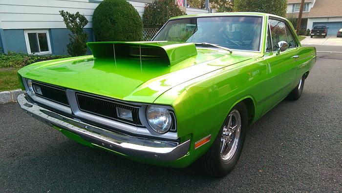 1970 Dodge Dart 440 Supersnake Green ProStreet - Muscle Car