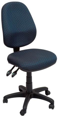 Stradbroke High Back Task Chair - Navy fabric
