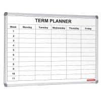 Single Term Planner White Board