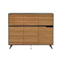 Milana 6 Door Cabinet, Small,1855mm W x 425mm D x 1250mm H