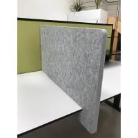 Utility Slide-On Desk Divider, In Position
