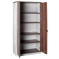 Aspect Storage Cupboard, Open Doors