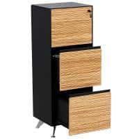 Milana Executive 3 Drawer Filing Cabinet
