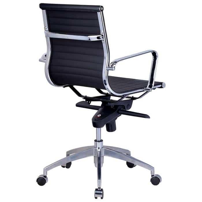 Heron Medium Back Chair, Rear View