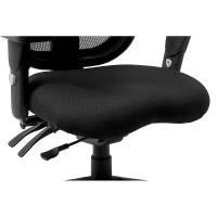 Laura Promesh Chair, Seat Detail