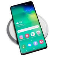 Energy Round Wireless Desk Top Charging Pad, with Phone Charging