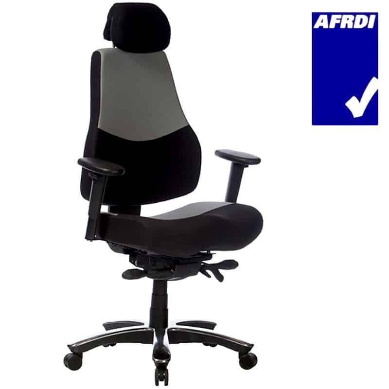 Tough Heavy Duty Chair, AFRDI Logo