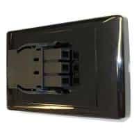Energy Soft Wire Wall Starter Socket, Black