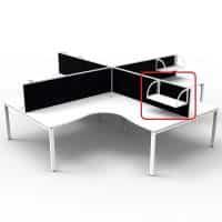 Integral Screen Mounted Shelf
