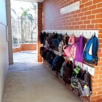 school bag storage