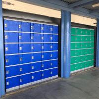 Smart ABS Plastic Lockers Example 1