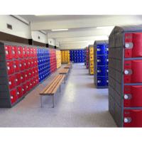 Smart Heavy Duty Plastic Lockers Example 6