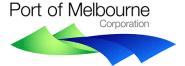 Port of Melbourne Corporation logo