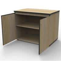 Timber cupboard