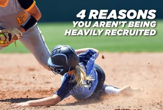 4 Reasons You Aren't Being Heavily Recruited