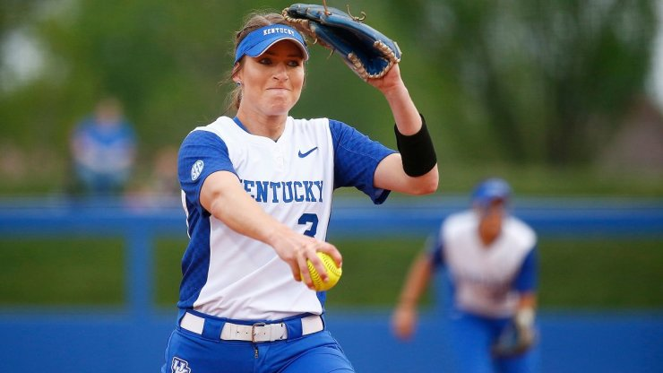 University of Kentucky Wildcats Pitcher Grace Baalman