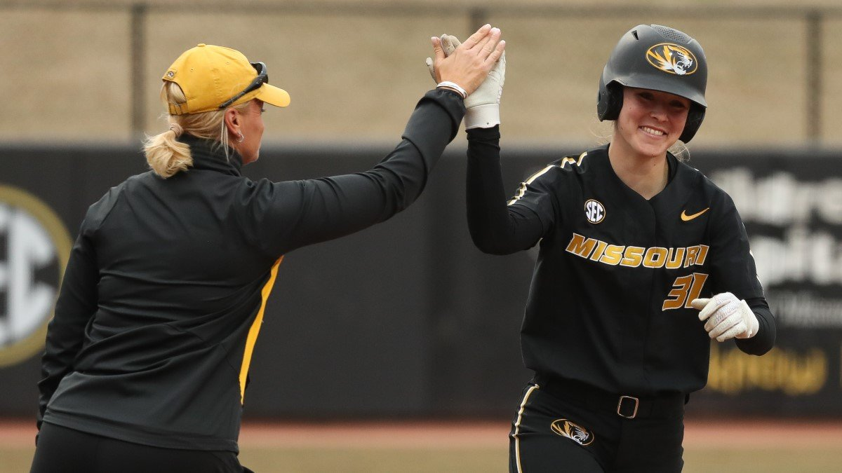 Mizzou Catcher Hattie Moore