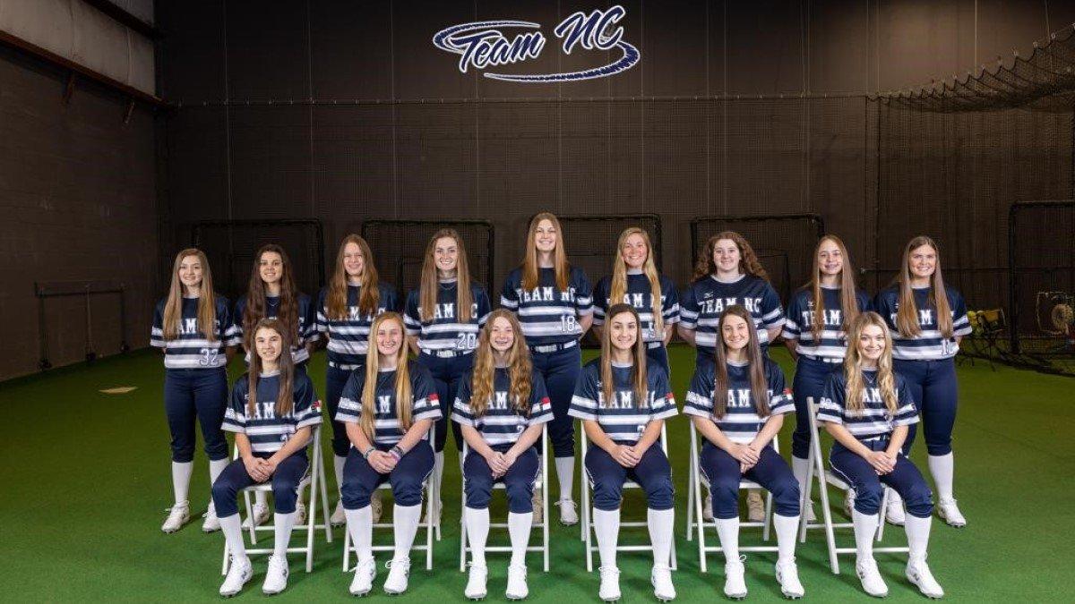 Team North Carolina Hinde 16U Team Picture