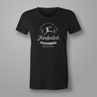 Vintage Fastpitch Softball T-shirt