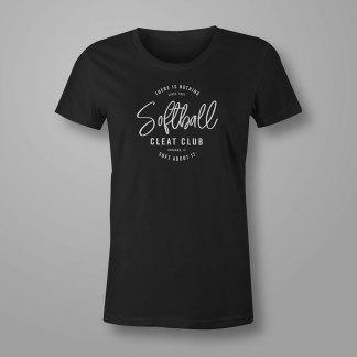 Softball Cleat Club - Softball T-shirt