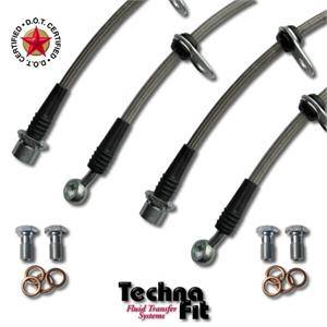 Technafit Stainless Brake Lines (Front & Rear): Scion tC