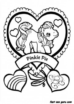 Print Out My Little Pony Pinkie Pie Coloring Pages Free Printable Coloring Pages For Kids