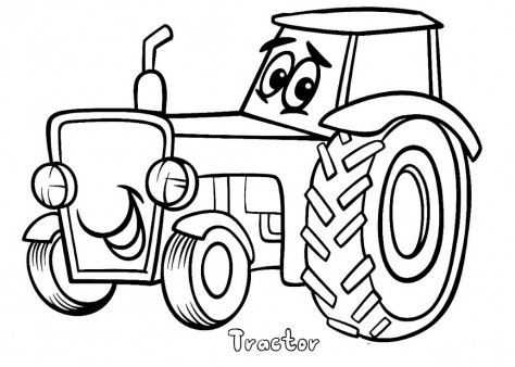 Print Out Tractor Coloring Pages Free Printable Coloring Pages For Kids