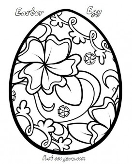 print out easter egg