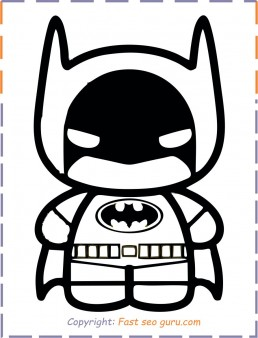 Batman Baby Coloring Pages Printable Free Printable Coloring Pages For Kids