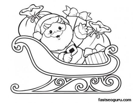 Homepage » Christmas » Printable Christmas Santa Claus