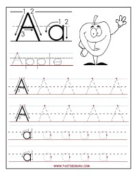 tracing letter u coloring pages