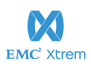 EMC Xtrem Stacked Logo