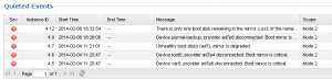 Isilon boot disk error