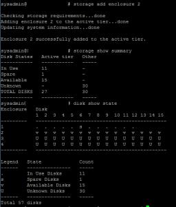 data domain storage add enclosure 2
