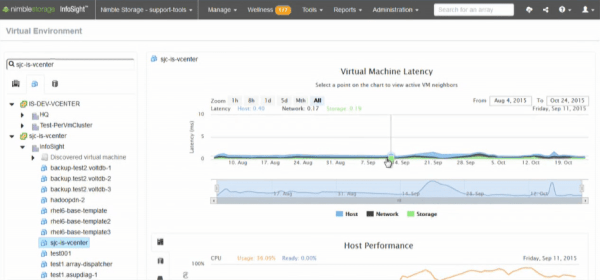 Nimble Storage InfoSight