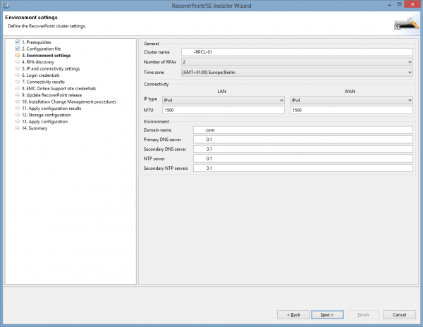 Deploying RecoverPoint - Part 3 - Deployment Manager
